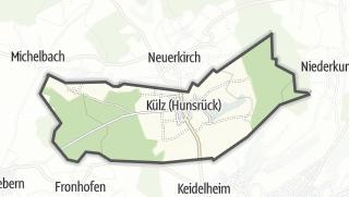 Mapa / Külz (Hunsrück)