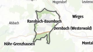 Mapa / Ransbach-Baumbach