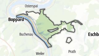 Cartina / Kamp-Bornhofen