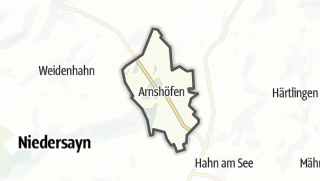 Mapa / Arnshöfen