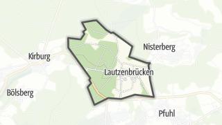 Mapa / Lautzenbrücken
