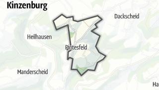 Karte / Pintesfeld