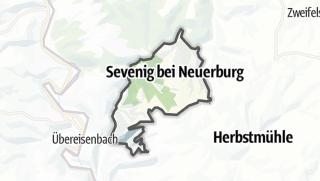 Karte / Sevenig bei Neuerburg