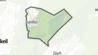 Karte / Damflos