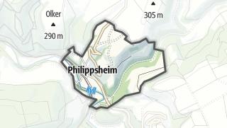 Karte / Philippsheim