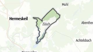 Karte / Züsch