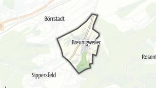 Karte / Breunigweiler