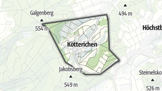 Karte / Kötterichen
