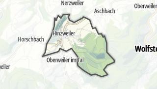 Karte / Hinzweiler
