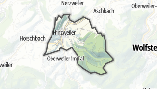 מפה / Hinzweiler