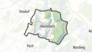 Karte / Mannebach