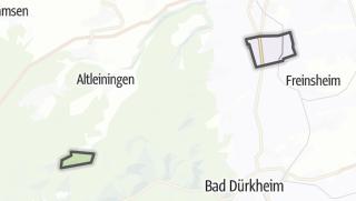 Mapa / Dackenheim