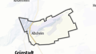 Mapa / Obrigheim (Pfalz)