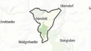 Cartina / Schiersfeld