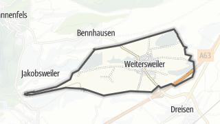 Cartina / Weitersweiler