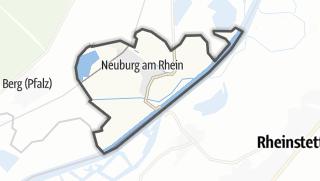 Karte / Neuburg am Rhein