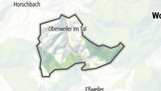 Karte / Oberweiler im Tal