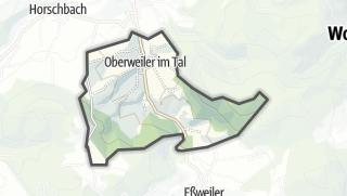 מפה / Oberweiler im Tal