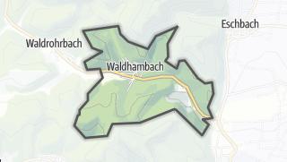 Mapa / Waldhambach