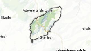 Karte / Kreimbach-Kaulbach