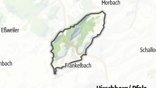 מפה / Kreimbach-Kaulbach