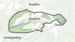 Karte / Donsieders
