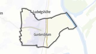 地图 / Guntersblum