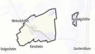 Karte / Uelversheim