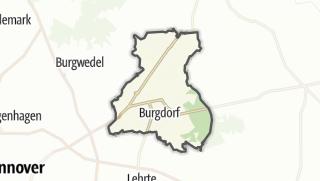 Karte / Burgdorf
