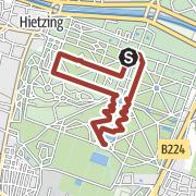 מפה / Schlosspark Schönbrunn