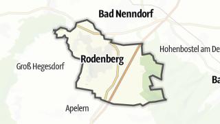 Mapa / Rodenberg