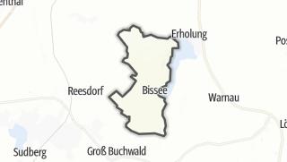 Karte / Bissee