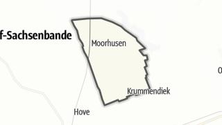 地图 / Moorhusen