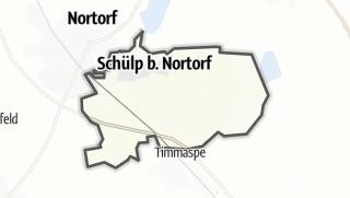 Karte / Schülp bei Nortorf