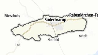 Cartina / Süderbrarup
