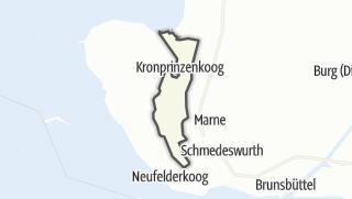 Mapa / Kronprinzenkoog