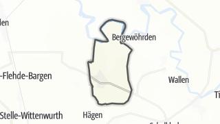 Mapa / Hennstedt
