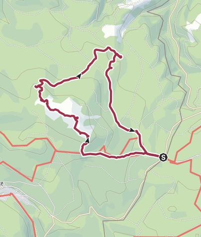 Karte / Kleine Oberharzer Klippentour