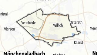 Cartina / Willich