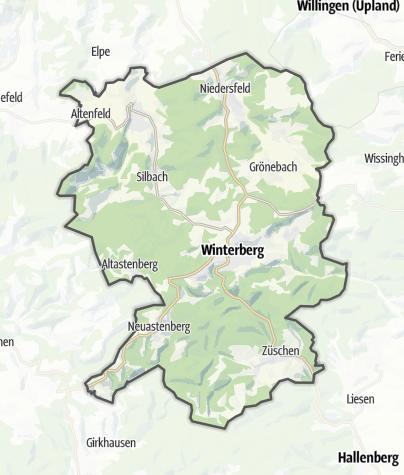 Karte / Winterberg