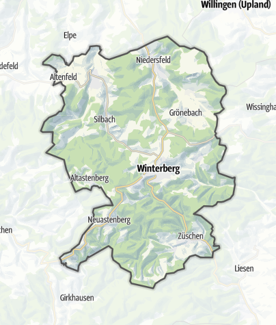 Map / Winterberg