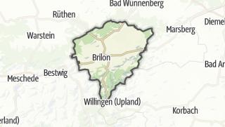 Karte / Brilon