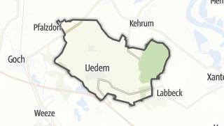 地图 / Uedem
