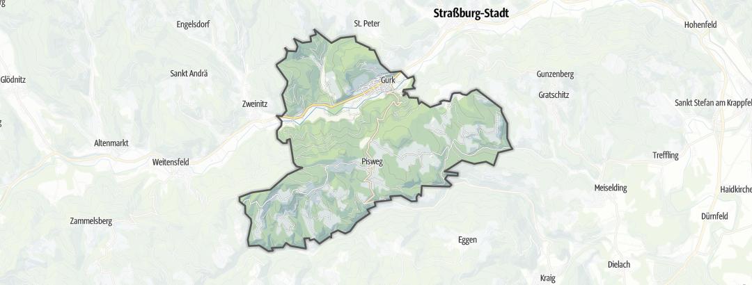 Mappa / Cammini a Gurk