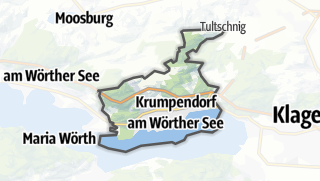 地图 / Krumpendorf am Woerther See