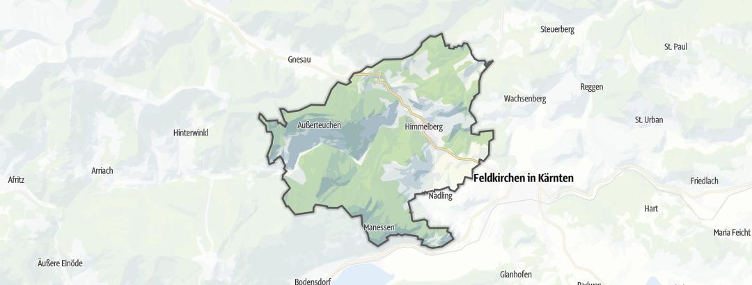 Mapa / Caminhada em Himmelberg