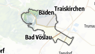 Mapa / Baden