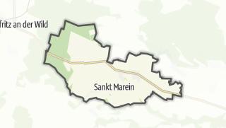 Cartina / Brunn an der Wild