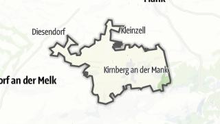 Cartina / Kirnberg an der Mank