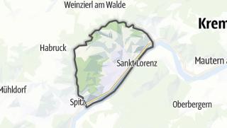 Cartina / Weissenkirchen in der Wachau